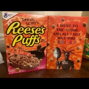 Travis Scott Limited cereal